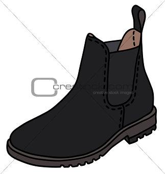 Black pear boot