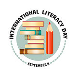 International Literacy Day September 8.