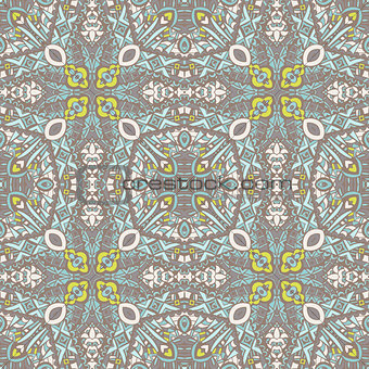 abstract ethnic seamless pattern tribal background. Endless geometric print