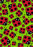 Cute Cartoon Ladybird Pattern