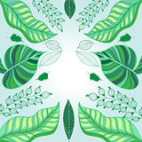 Vector Graphics green foliage