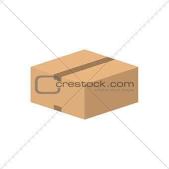 Closed carton cardboard box