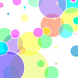 Abstract vector with colorful bubble elements