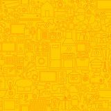 Household Appliance Line Tile Pattern