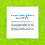 Household Appliance Paper Template