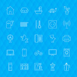 Line Household Icons