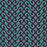 Knitted seamless pattern