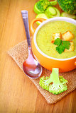 Delicious vegetarian soup