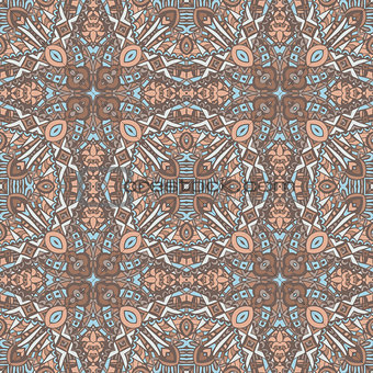 abstract geometric bohemian ethnic seamless pattern ornamental.