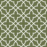 Figured seamless grating pattern - arabesque ornament