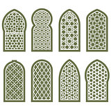 Figured arabian window ornament - grating arabesque pattern