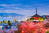 Miyajima, Hiroshima in Spring