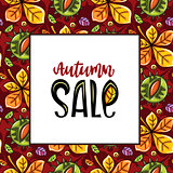 Autumn sale pattern series