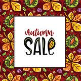 Autumn sale pattern series