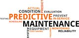 word cloud - predictive maintenance