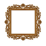 carved frame for picture or photo