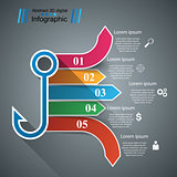 Hook business infographic