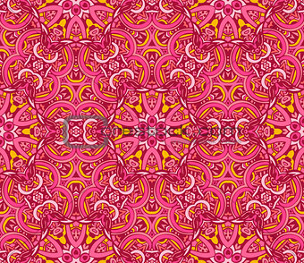 Abstract grunge vector ethnic tribal pattern