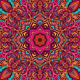 festive seamless pattern doodle mandala