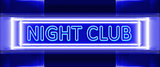 neon sign of night club