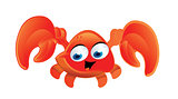 red crab cartoon