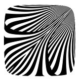 Lines pattern. Abstract design.