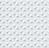 Seamless 3d pattern. Geometric triangles texture.