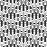 Seamless geometric pattern - rhombus background. Striped texture.