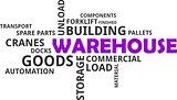 word cloud - warehouse