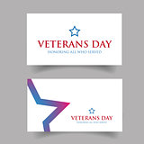 Veterans Day Usa design