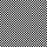 Regular pattern of squares in alternating black and white colors.
