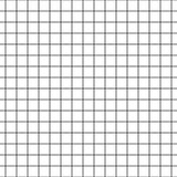 Checkered notebook paper vector seamless pattern.
