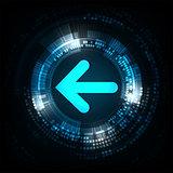 Vector arrows convey the next step.