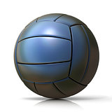 Black volleyball ball