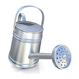 Metal watering can 3D