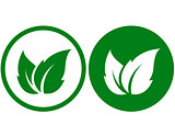 two eco icons