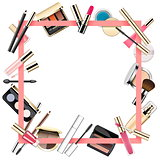 Vector Makeup Frame
