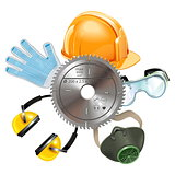 Vector Saw Protective Equipment