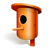Vector Birdhouse