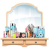 Vector Dressing Table