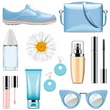 Vector Fashion Accessories Set 3