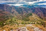 Bova superiore calabrian landscape