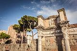 Detail of forum of Augustus in Rome