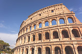 Colosseum in matte toning