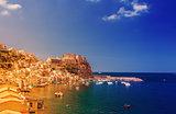 Scilla castle in Calabria