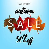 Autumn Sale Poster