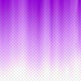 Purple flare rays