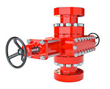 Blowout preventer, isolated