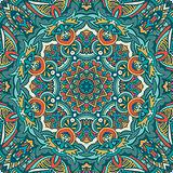 Tribal indian ethnic seamless design. Festive colorful mandala pattern