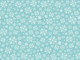 Snowflakes winter background.